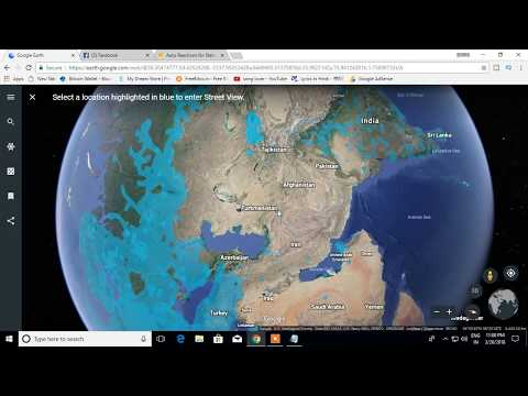 Real-time Satellites in Google Earth - YouTube