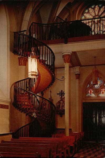 Our Lady of Light Chapel - Staircase Santa Fe, NM
