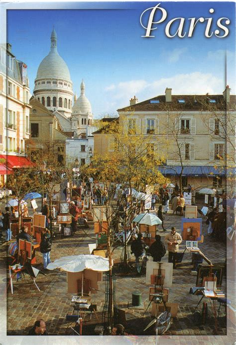 Montmartre ~ Paris | Remembering Letters and Postcards